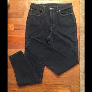 LL Bean Classic Fit Denim Jeans sz 10